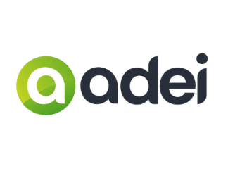 ADEI.com for sale with logo