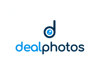 dealphotos logo dealphotos.com letter d