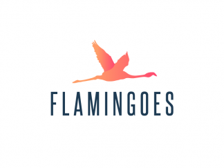 Flamingoes Logo Flamingoes.com Flamingo Flamingos