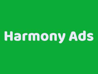 HarmonyAds Logo Harmony Ads brand
